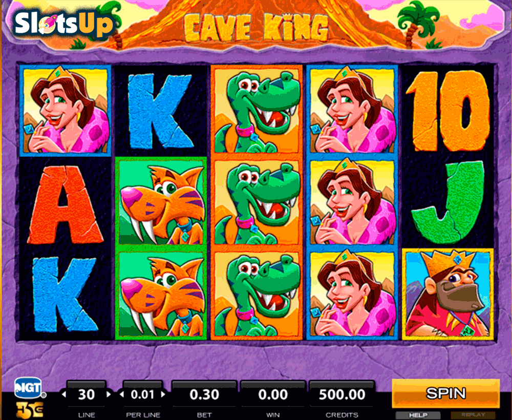 play slots online king spielen