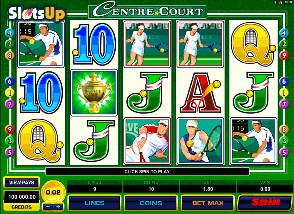 Centre Court Slot Machine Online ᐈ Microgaming™ Casino Slots