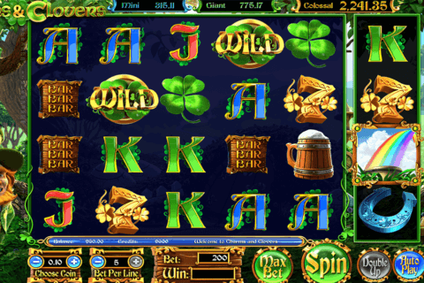charms clovers betsoft casino slots 480x320