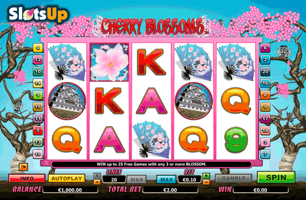 CHERRY BLOSSOMS NEXTGEN GAMING CASINO SLOTS
