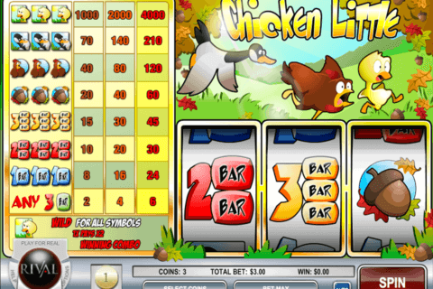 CHICKEN LITTLE RIVAL CASINO SLOTS