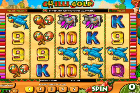 CHILLI GOLD AMAYA CASINO SLOTS