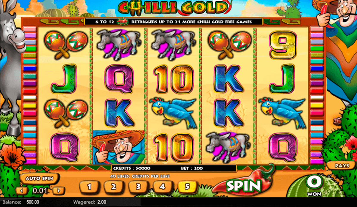 Chilli Gold Slot Machine Online ᐈ Lightning Box™ Casino Slots