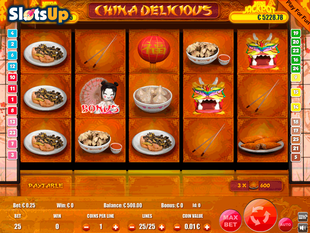china delicious portomaso casino slots