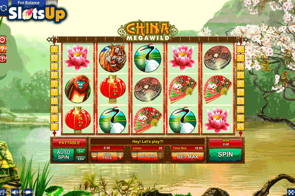 CHINA MEGAWILD GAMESOS CASINO SLOTS