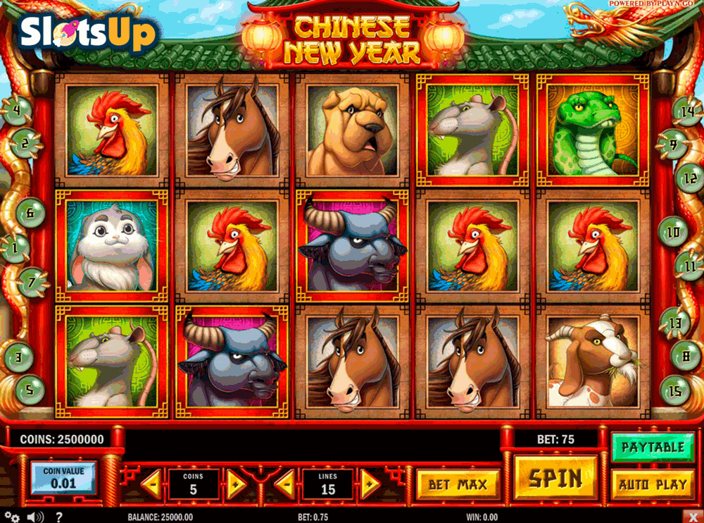 Chinese New Year Slot Machine - Play Online for Free