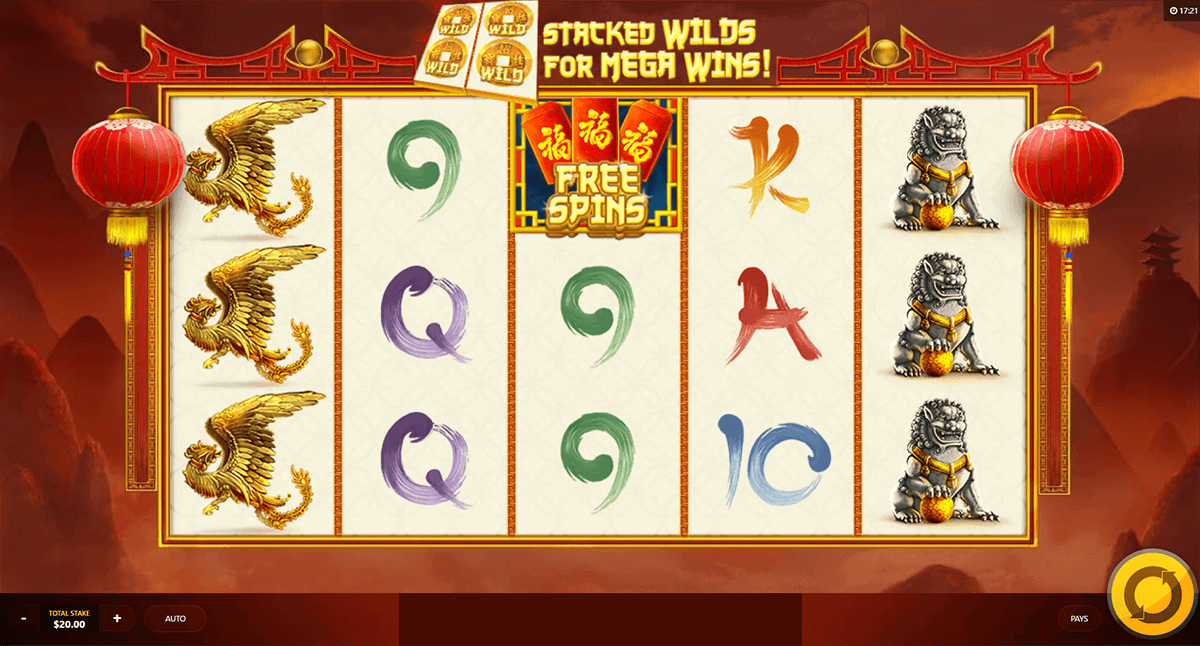 CHINESE TREASURES RED TIGER CASINO SLOTS
