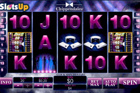 CHIPPENDALES PLAYTECH CASINO SLOTS