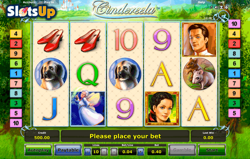 Cindereela Slot Machine - Free to Play Online Game