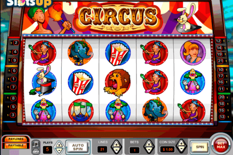 circus vista gaming casino slots