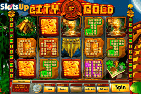 CITY OF GOLD SAUCIFY CASINO SLOTS