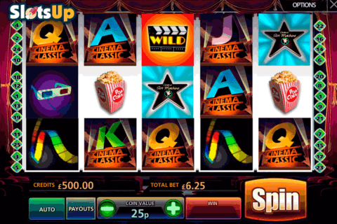 classic cinema multislot casino slots