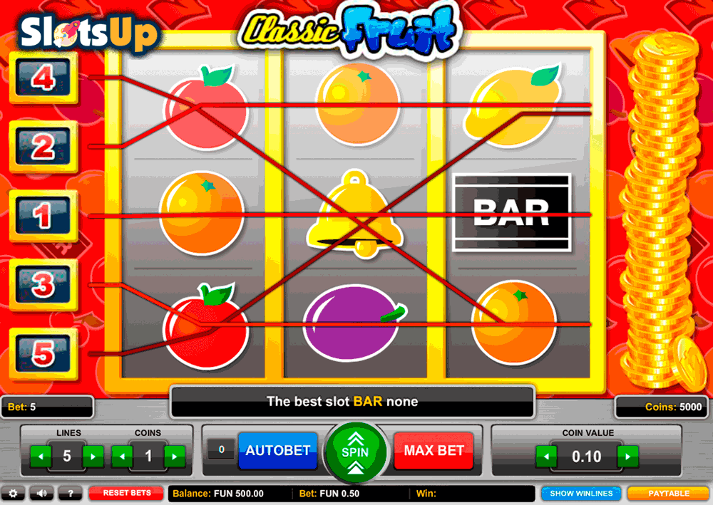 Free fruit slot games online