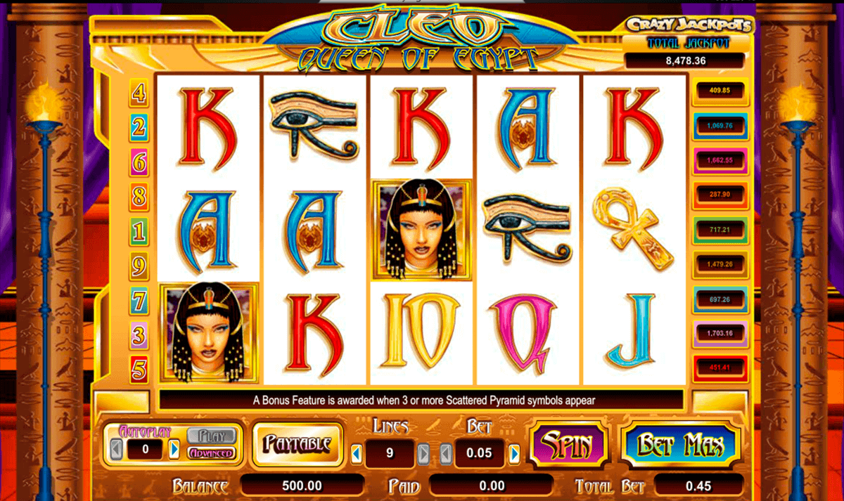 Spiele Coins Of Egypt - Video Slots Online