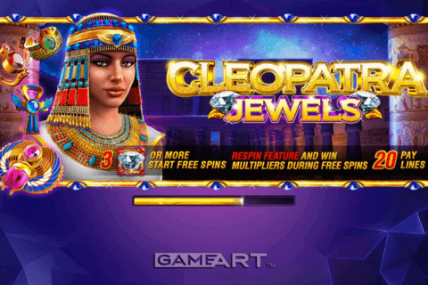 cleopatra gameart slot machine 480x320