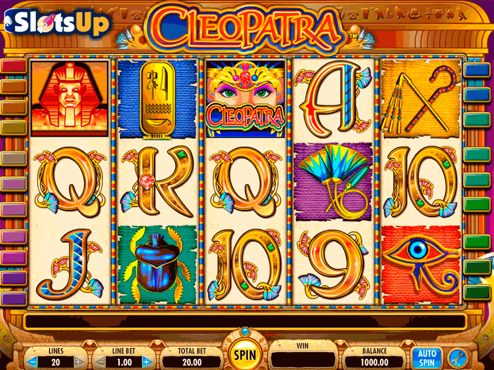 Cleopatra Slot Machine Paytables