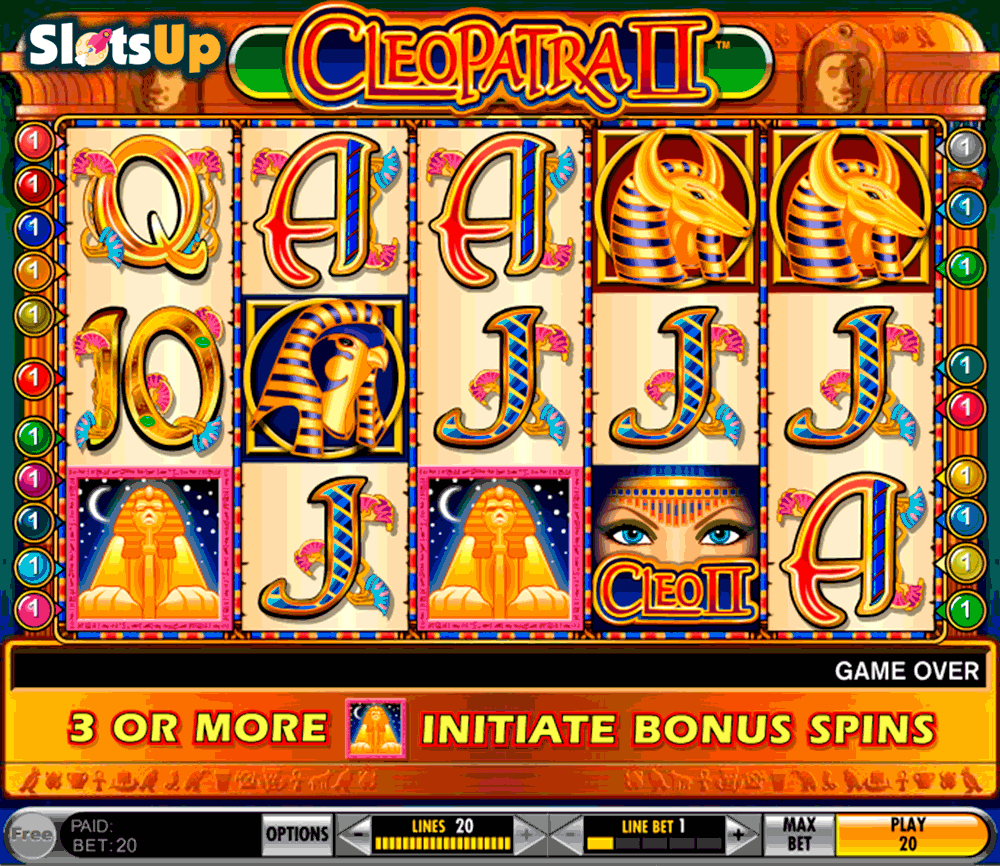 Cleopatras Coins™ Slot Machine Game to Play Free in Rivals Online Casinos