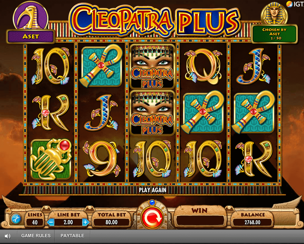 Cleopatra Slot Machine - Play Free Casino Slots Online