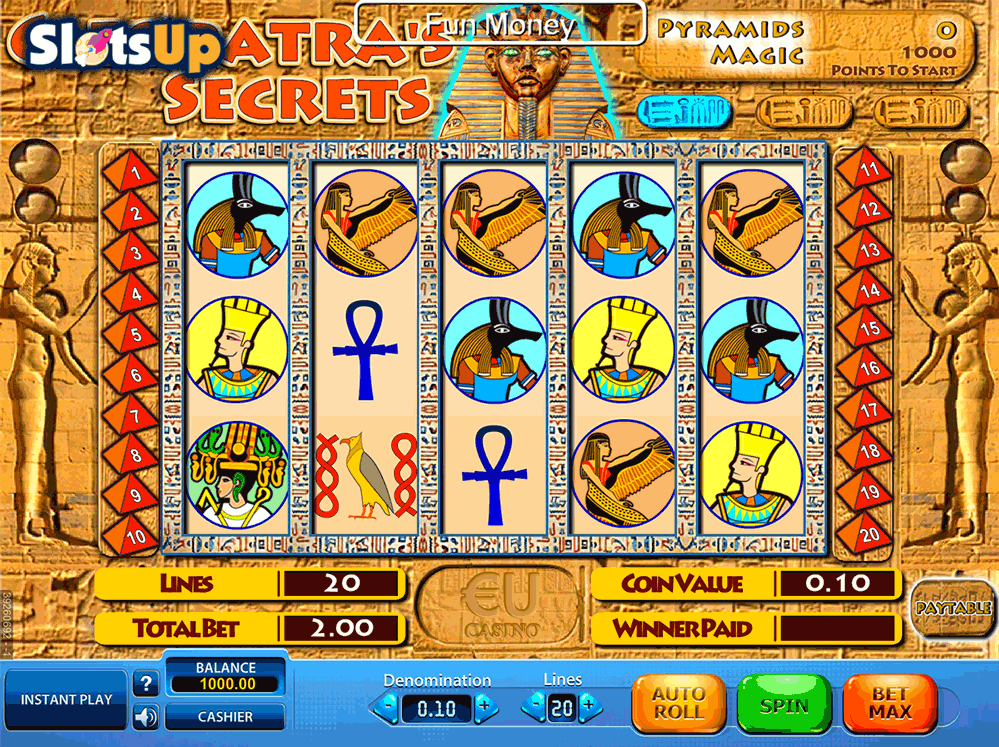 Cleopatras Secret Slots Review & Free Online Demo Game