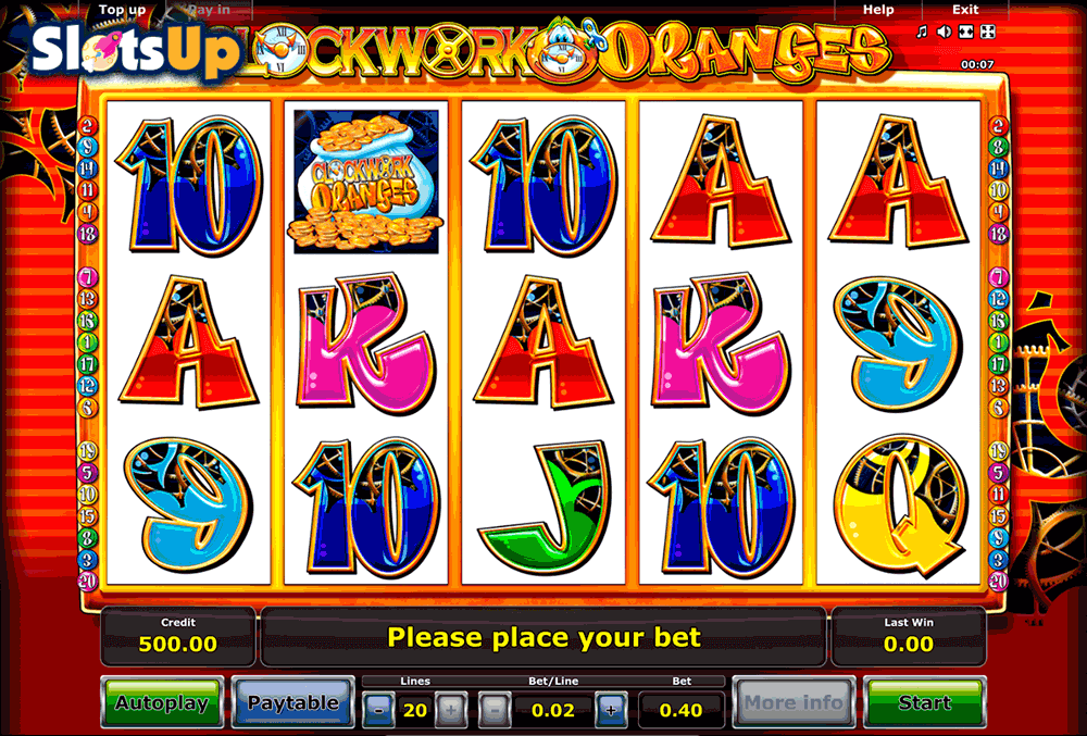 Clockwork Oranges Slot Machine - Play for Free Online