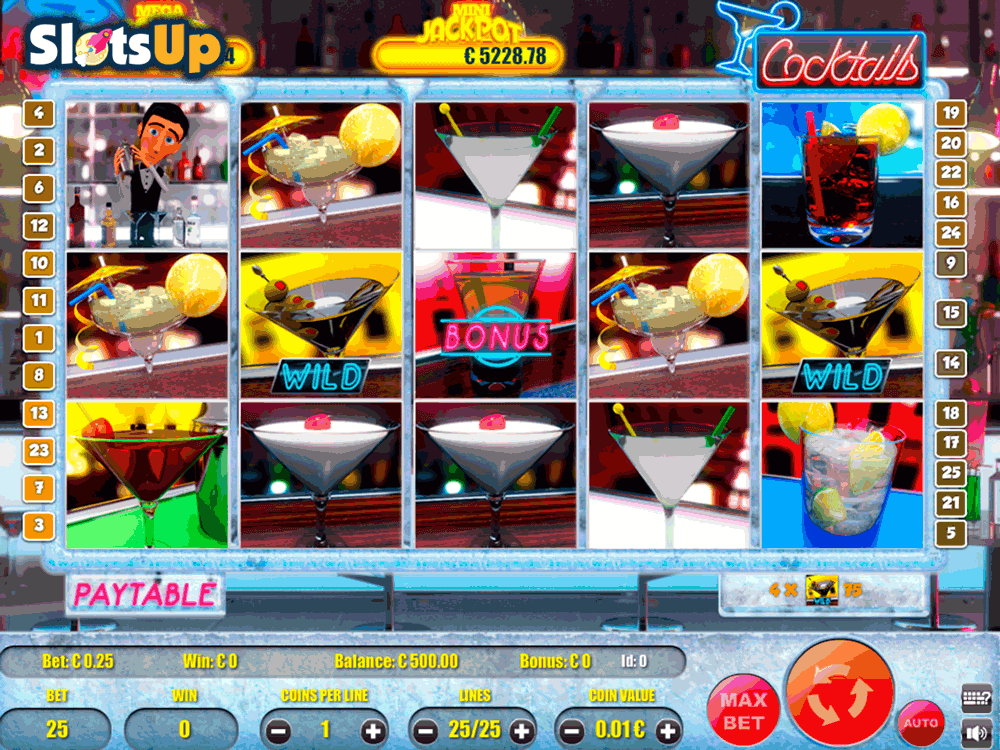 Cocktails Time Slot Machine Review & Free Online Demo Game