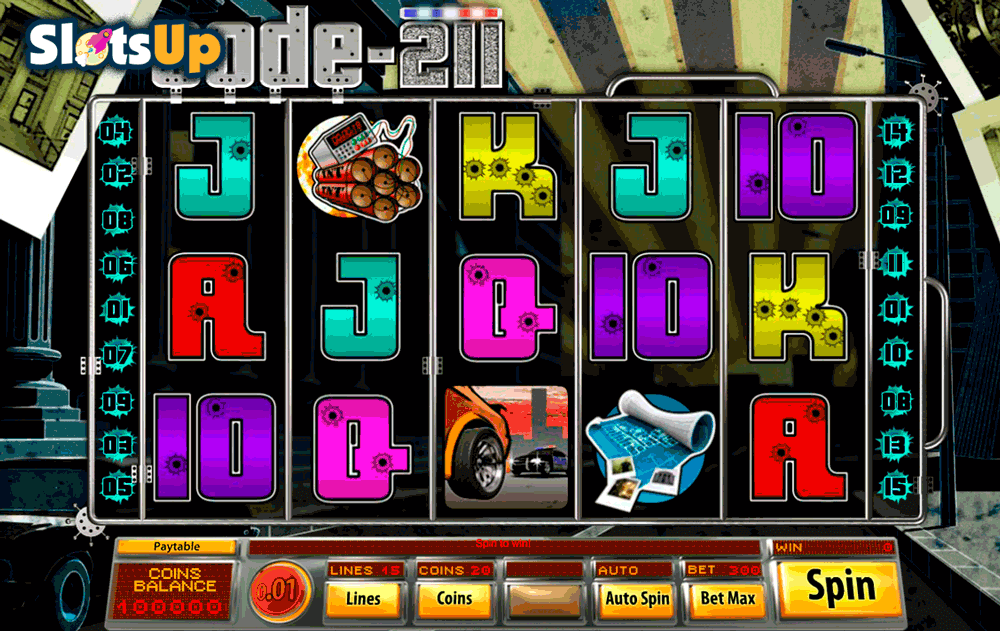 Code 211 Slot Machine Online ᐈ Saucify™ Casino Slots
