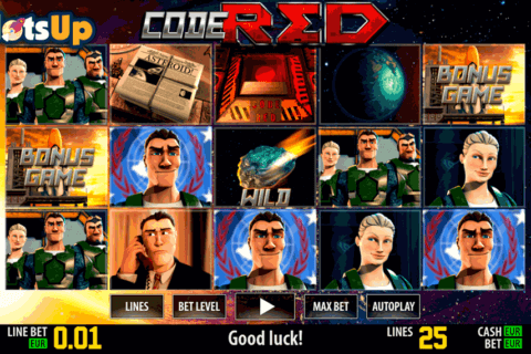 CODE RED HD WORLD MATCH CASINO SLOTS
