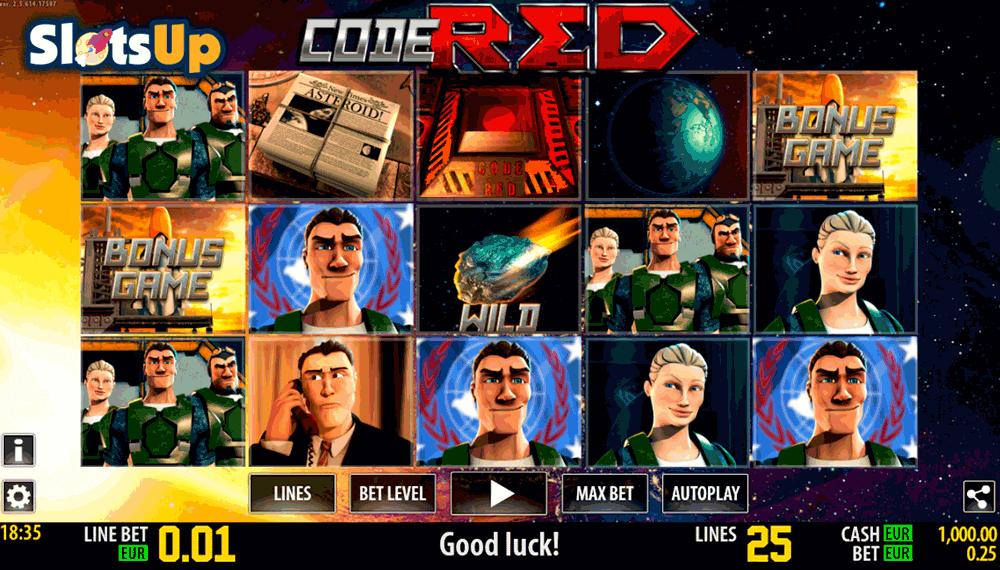 Code Red™ Slot Machine Game to Play Free in WorldMatchs Online Casinos