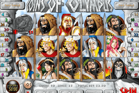 coins of olympus rival casino slots