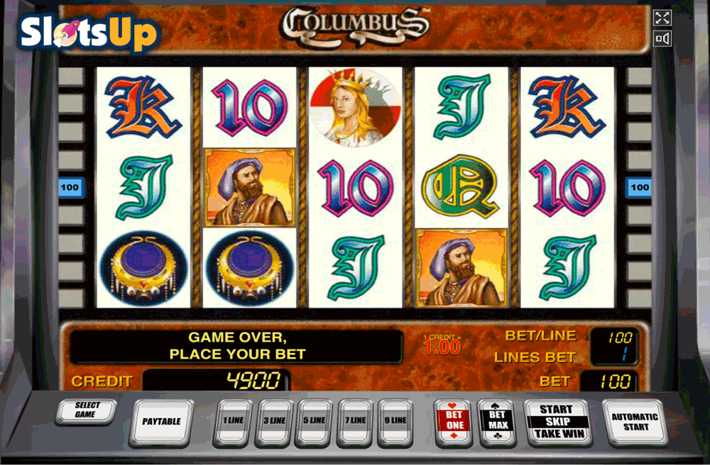 Columbus™ Slot Machine Game to Play Free in Novomatics Online Casinos