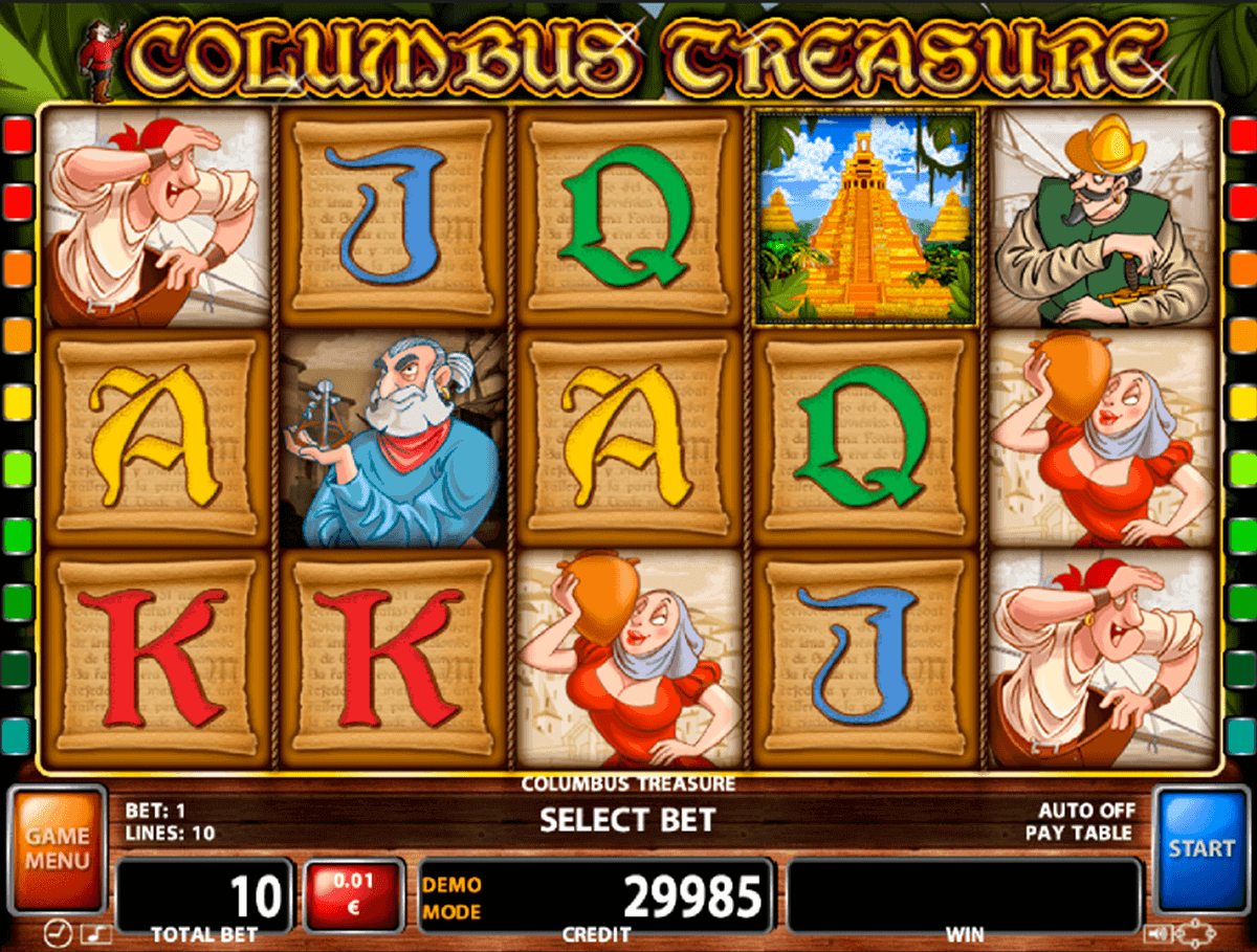 Columbus Slots - Free Play & Real Money Casino Online