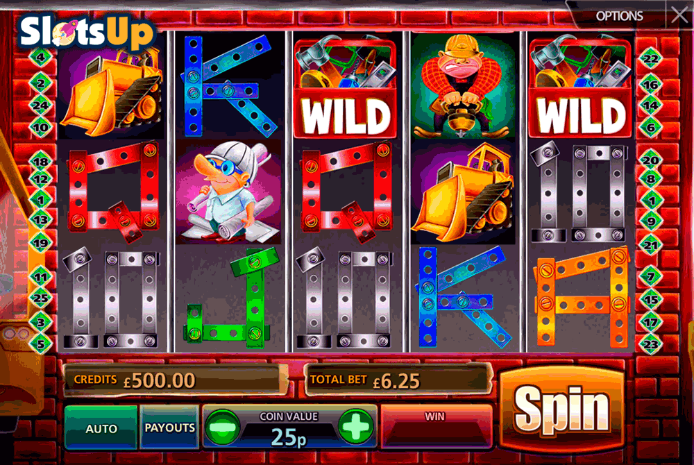 Under Construction Slot - Play the Online Slot for Free