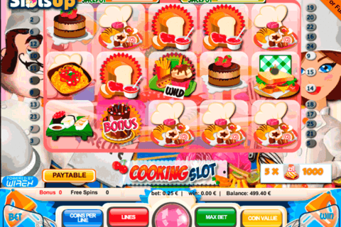 COOKING SLOT PORTOMASO CASINO SLOTS