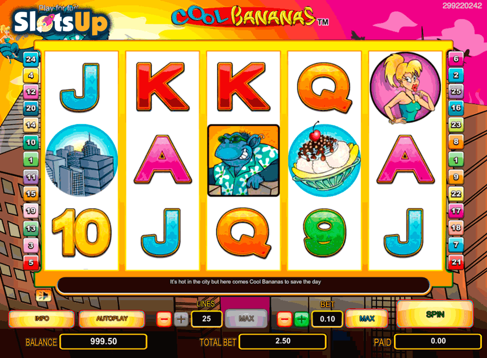 Cool Bananas Slot Machine Online ᐈ NextGen Gaming™ Casino Slots