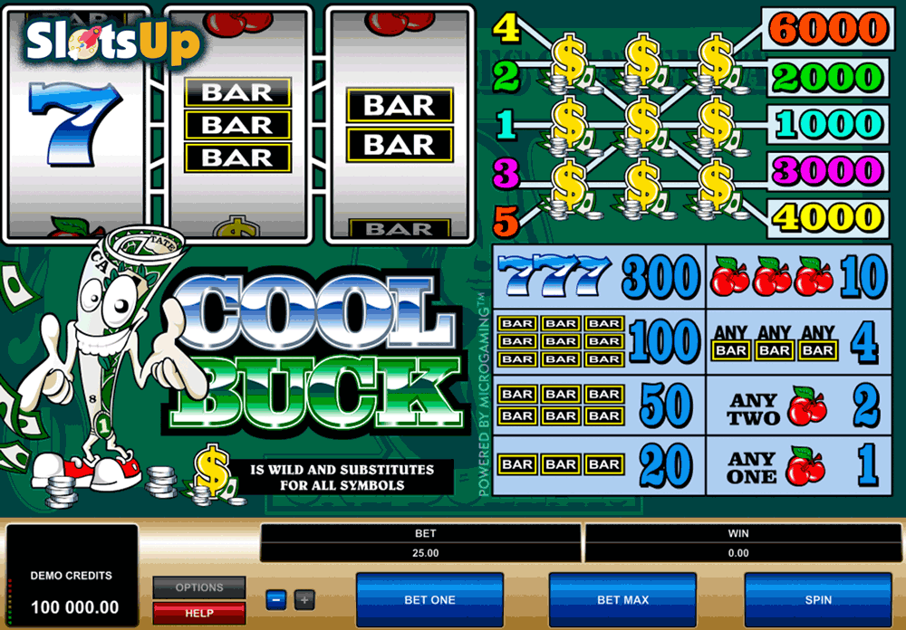 Cool Buck Slots - Play Free Microgaming Slot Machines Online