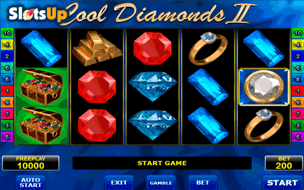 Cool Diamonds II Slot Machine - Play Online for Free