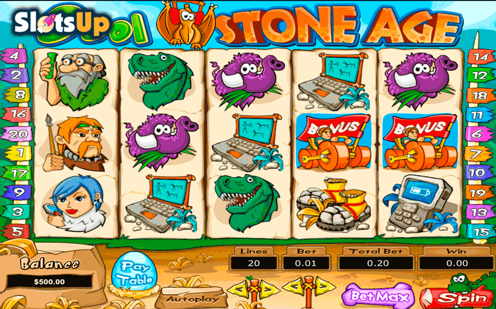 Stone Age Slot Machine Online ᐈ Kajot™ Casino Slots