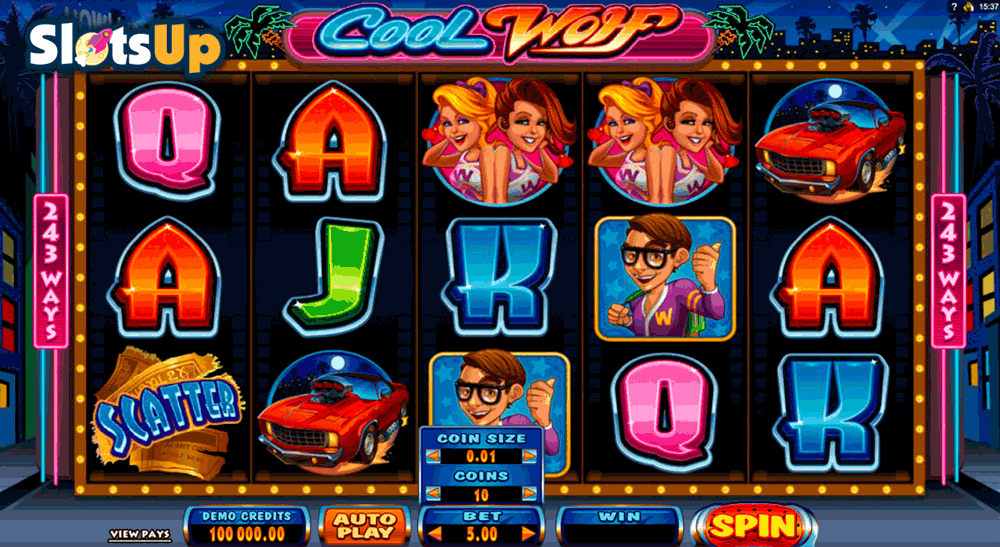 COOL WOLF MICROGAMING CASINO SLOTS