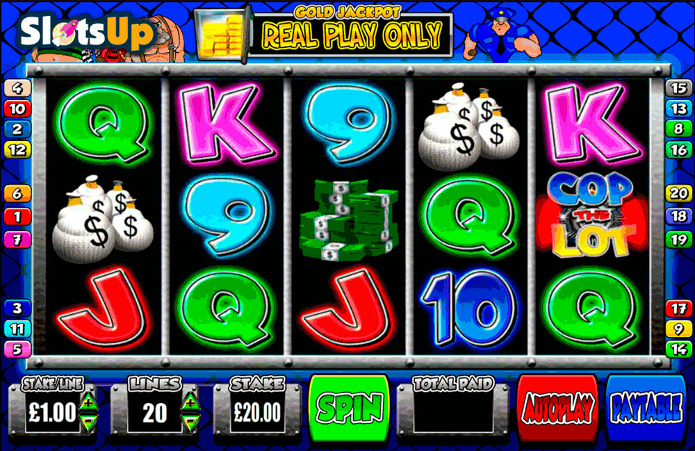 Cop the Lot Slot Machine - Play Online Slots for Free