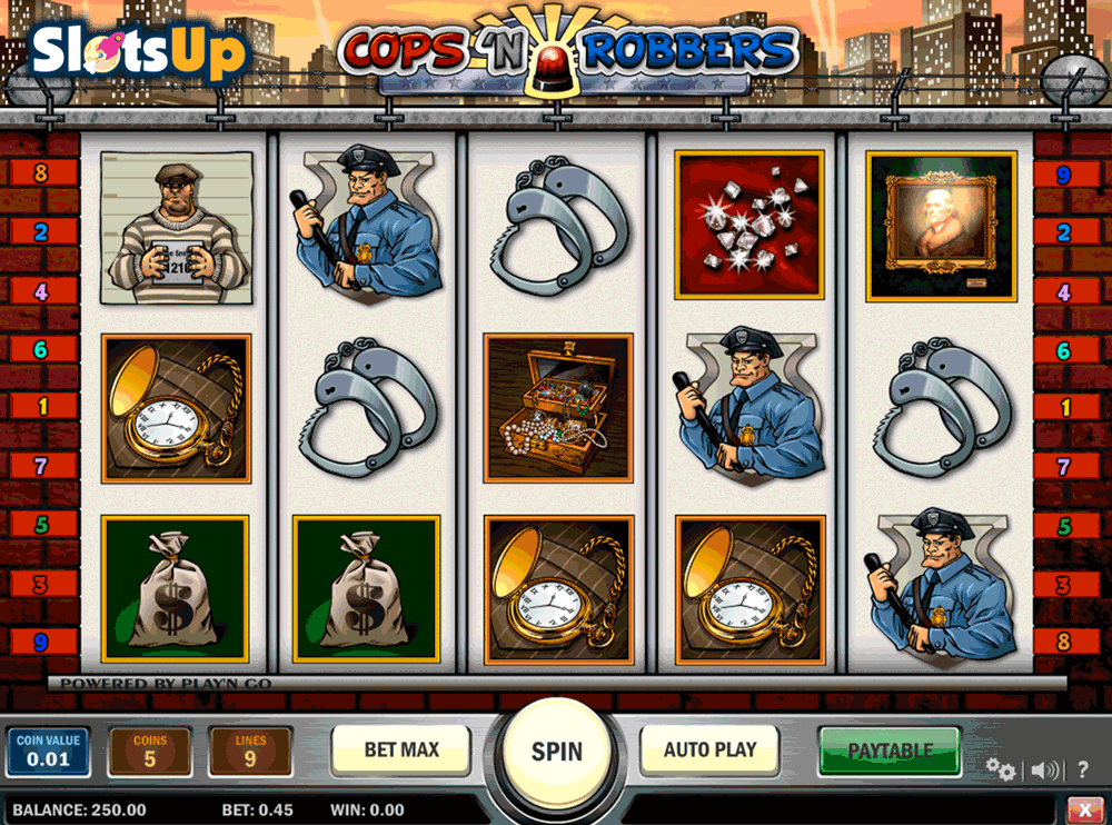 casino betting online cops and robbers slot