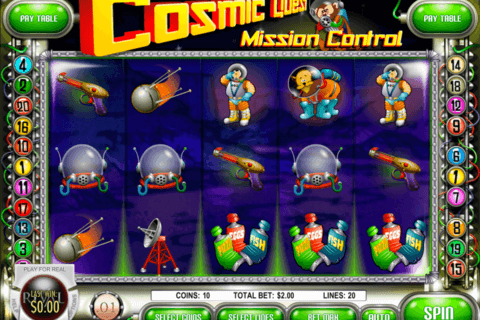 cosmic quest 1 mission control rival casino slots