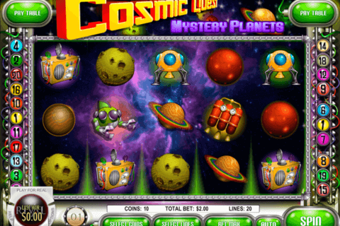 COSMIC QUEST 2 MYSTERY PLANETS RIVAL CASINO SLOTS