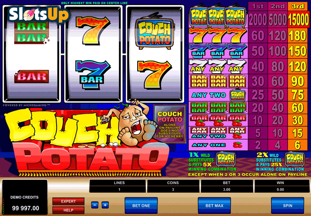 couch potato microgaming casino slots