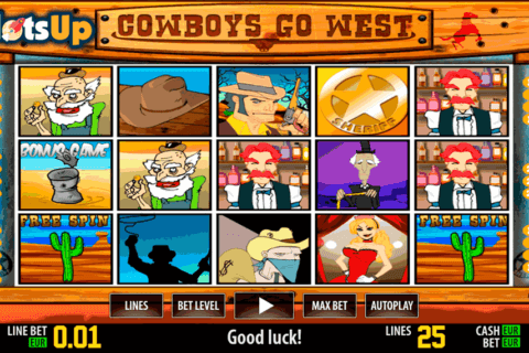 cowboys go west hd world match casino slots