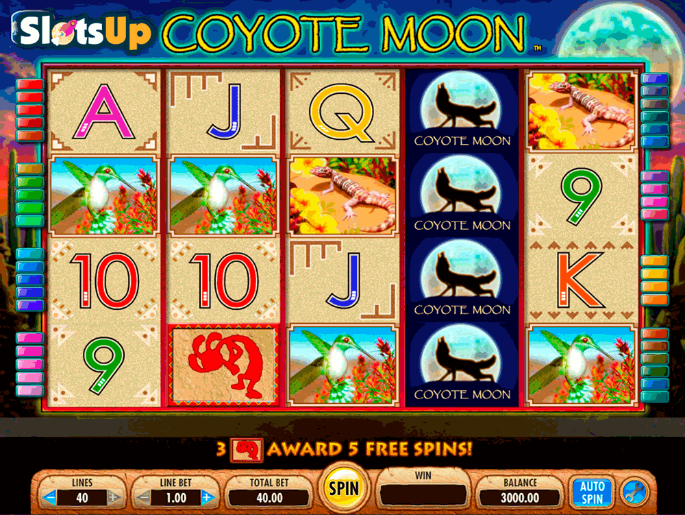 COYOTE MOON IGT CASINO SLOTS