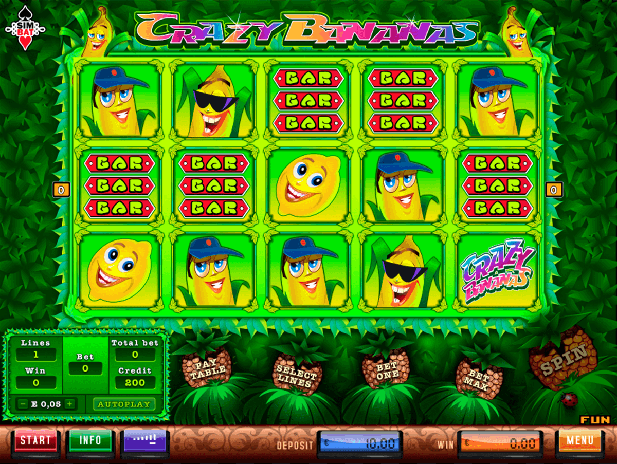 Crazy Bananas Slot Machine Online ᐈ Simbat™ Casino Slots