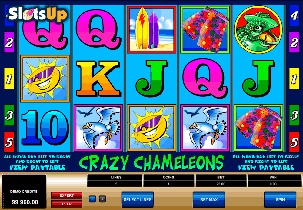 Crazy Crocodile Slot Machine - Play the Online Slot for Free