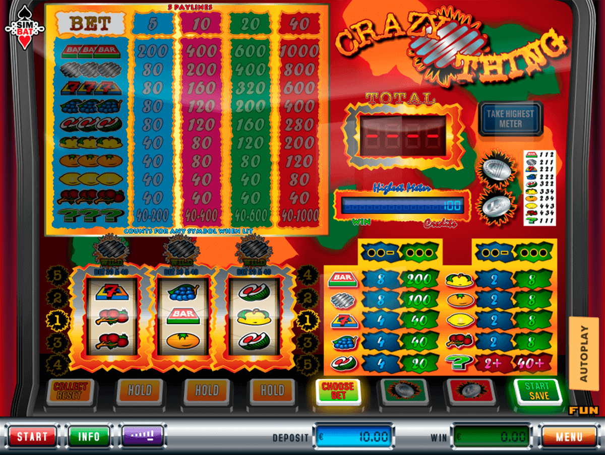 Crazy Sevens Slot Machine Online ᐈ Simbat™ Casino Slots