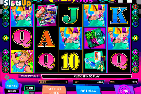 crazy80s microgaming casino slots