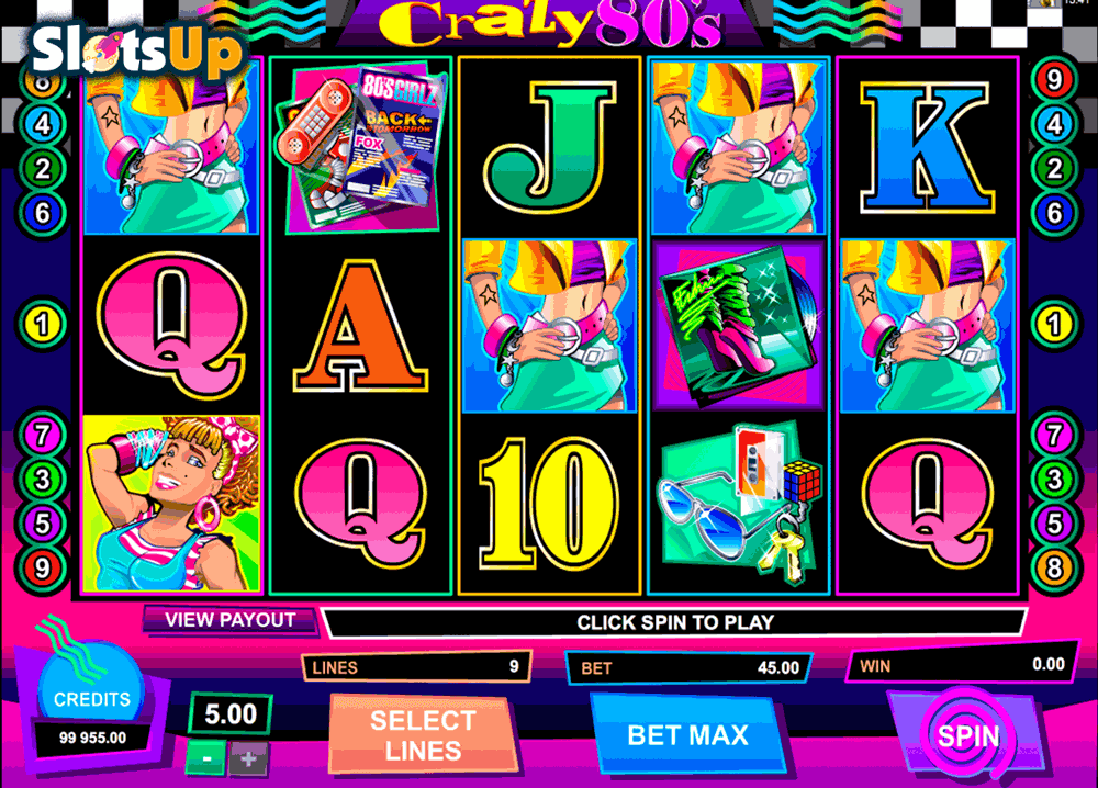 80's Night Life Slot - Play Online & Win Real Money